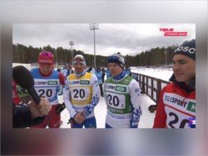 Александр Большунов завоевал четвёртое золото на чемпионате России