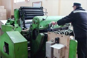 В суражской колонии-поселении запущено производство скоросшивателей