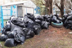 Брянский мусорный оператор бесплатно (!) вывез мусор, собранный на субботнике