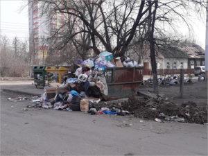 Брянские мусорщики активно участвуют в месячнике по благоустройству города. Как умеют