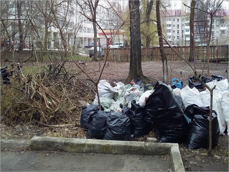 Брянские мусорщики отказались работать на городских субботниках и участвовать в месячнике по благоустройству