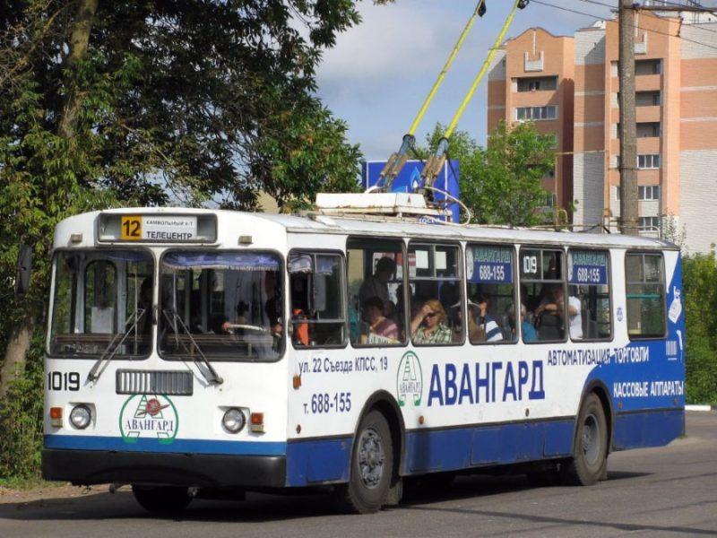Троллейбус №12 в Брянске с течение месяца будет ходить через улицу Куйбышева
