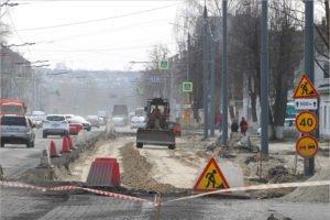 Брянские дорожники подготовили основание для шестиполосной улицы Ульянова