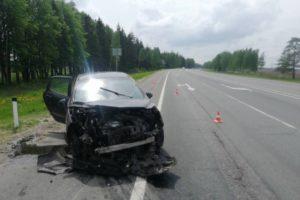 Под Выгоничами две женщины-водителя не поделили дорогу. Обе отделались ушибами