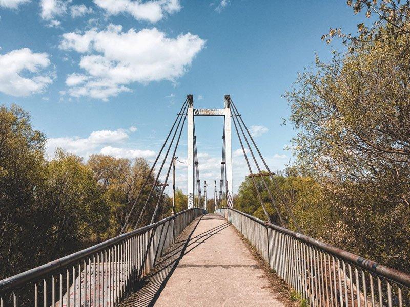 Брянский молодежный центр задумал покрасить мост в Соловьях