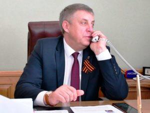 Медиарейтинг брянского губернатора по итогам апреля остаётся в шестом десятке