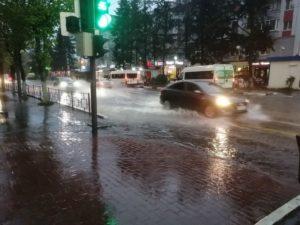 В пятницу в Брянске выпала четверть месячной нормы осадков