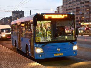 По троллейбусному маршруту № 12 в Брянске временно ходят автобусы