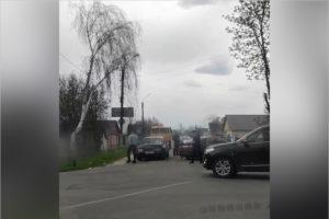 На перекрёстке в Новозыбкове столкнулись три авто. В больнице оказался девятилетний школьник