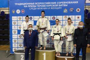 Брянская дзюдоистка отобралась на чемпионат России