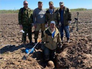 Брянские поисковики обнаружили останки ещё двоих бойцов Красной Армии