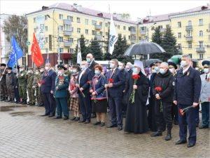В Брянске открыта «Вахта памяти»