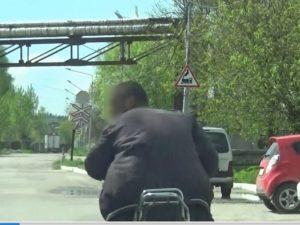 В Белых Берегах полицейская погоня догнала пьяного мопедиста