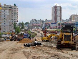 На закрытом участке Объездной в Брянске разбираются с переносом коммуникаций