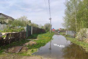 Брянские власти узнали от прокуратуры про потоп на улице Флотской