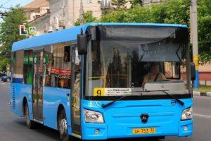 В Брянске автобус №9 будет ходить в Радицу-Крыловку чаще