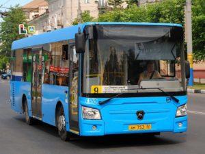В Брянске скорректируют расписание автобуса №9 по будням