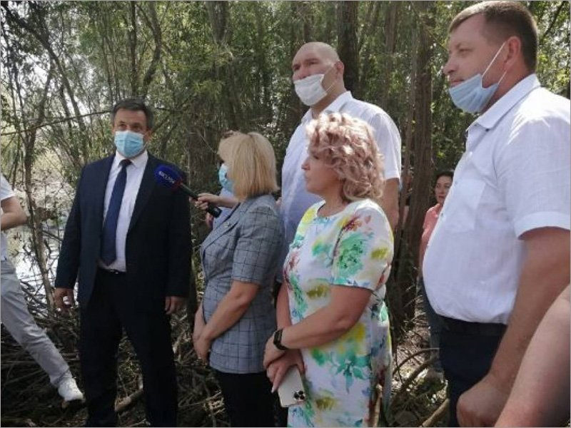 Русло Десны в Брянске будут чистить от Бордовичского водозабора до 2030 года