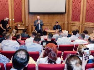 Навстречу выборам: лидеры коммунистов и социалистов Молдавии провели встречи с представителями диаспоры в России