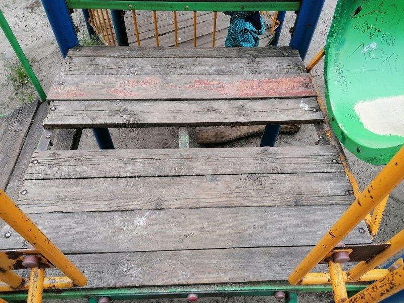 В Бежице будет отремонтирована детская площадка на Донбасской