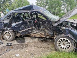 В ДТП под Климово Брянской области погиб водитель, двое его детей госпитализированы