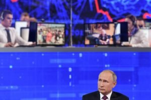 «Прямая линия» с Владимиром Путиным 30 июня: россиян интересуют здравоохранение, экономика, пенсии