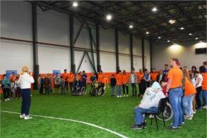 «Поверь в себя»: в Брянске состоялся спортивно-игровой праздник для детей-инвалидов