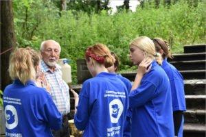 В брянский усадебный парк Тенишевых приехали музейные волонтёры из Петербурга