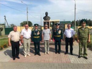 Брянские ветераны-пограничники посетили именную заставу в белорусском Лоеве