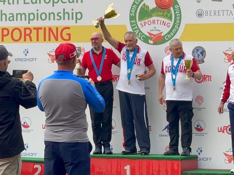 Брянские стрелки успешно выступили на чемпионате Европы по спортингу