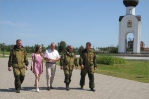 Брянские поисковики приняли участие в церемонии захоронения погибших под Ржевом солдат