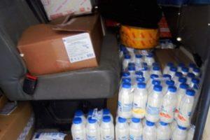 В Брянской области притормозили более 400 кг нелегальной «молочки» и мясопродуктов из Белоруссии