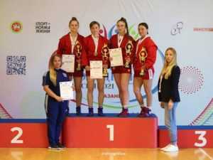 Брянские самбистки завоевали две серебряных медали на V летней Спартакиаде