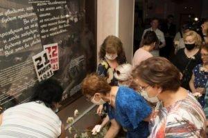 В брянском драмтеатре открыта инсталляция «Прерванные гастроли»