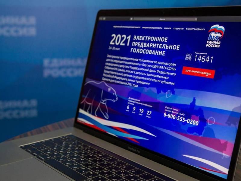 Абсолютный рекорд: в электронном предварительном голосовании «Единой России» приняли участие почти 5 млн. человек