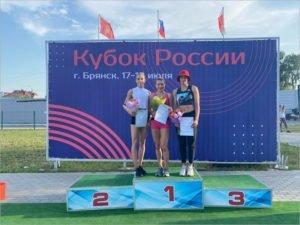 Брянская команда стала четвёртой в суперлиге легкоатлетического Кубка России