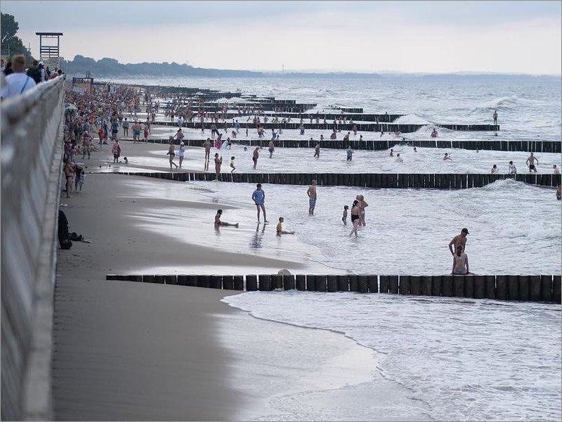 Вниманию брянских туристов: отбойное течение на Балтийском побережье — смертельно опасно