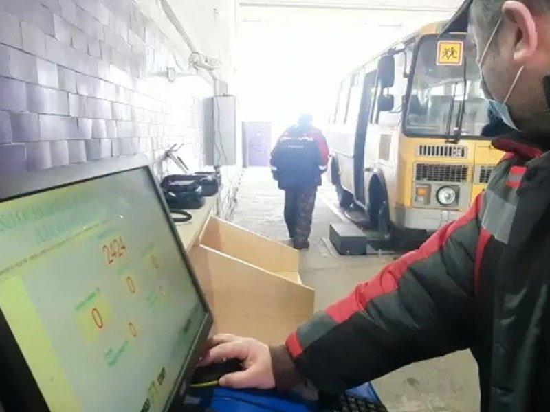 Брянская Госавтоинспекция забраковала 60% осмотренных автобусов