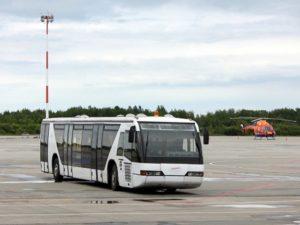 Брянский аэропорт закупил два перронных автобуса. Из Домодедово