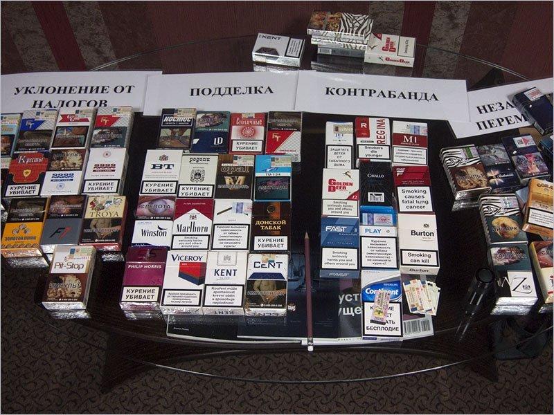 За год брянская полиция конфисковала 3 млн. пачек контрафактных сигарет