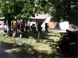 «Огород» приехал  в Бежицу. Брянские дворы стали съёмочной площадкой