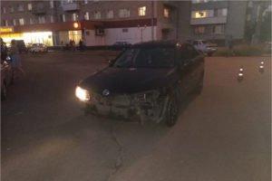 В Клинцах водитель иномарки протаранил мотоциклиста