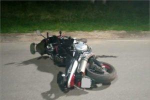 На дороге у Свенского монастыря разбился мотоциклист