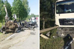 В страшном ДТП в Калужской области погиб житель Дятьково