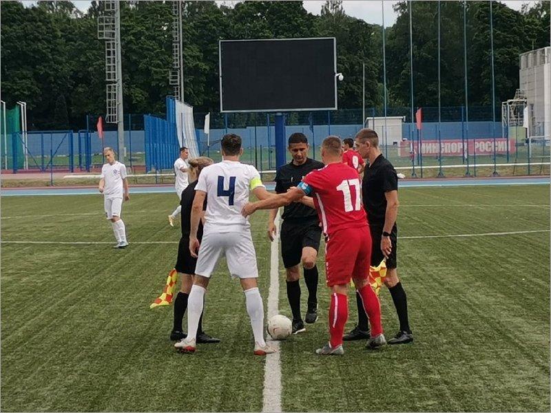 Брянское «Динамо» выиграло контрольный матч в Смоленске