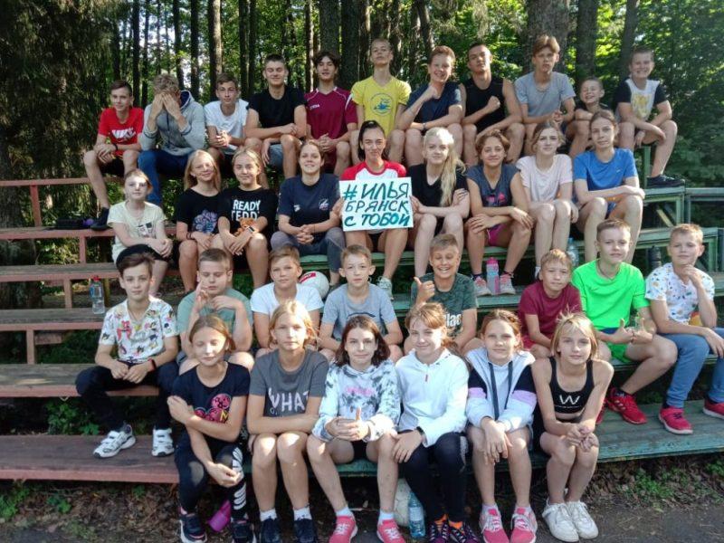 Брянские спортсмены пожелали здоровья и новых побед пловцу Илье Бородину
