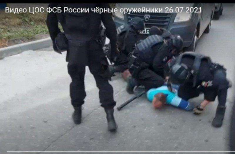 ФСБ показала «кино» о захватах «чёрных» оружейников