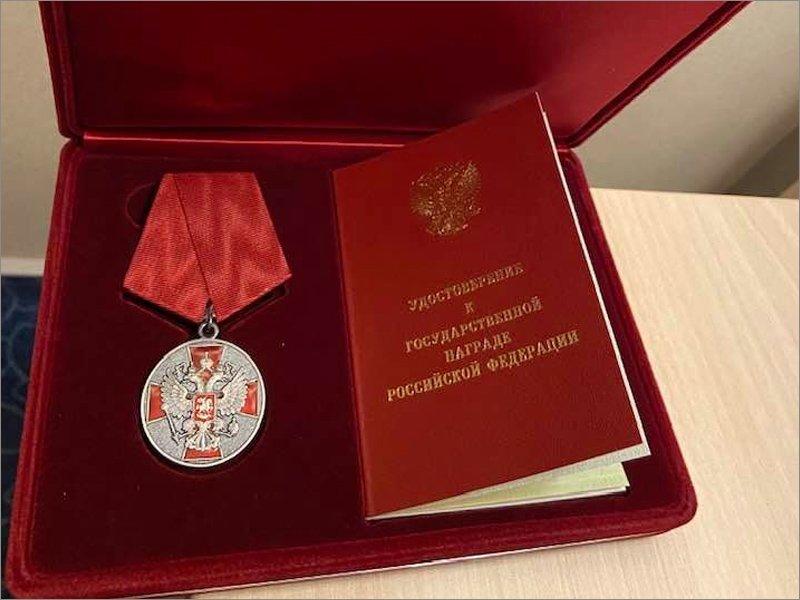 Брянский экс-замгубернатора награждён «За заслуги перед Отечеством»