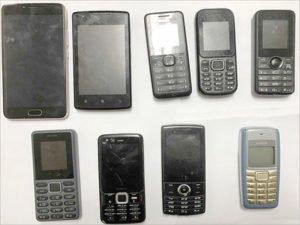 В клинцовскую колонию ИК-6 не долетело девять телефонов