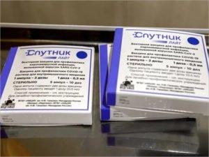 В Брянскую область поступили первые дозы вакцины «Спутник Лайт»